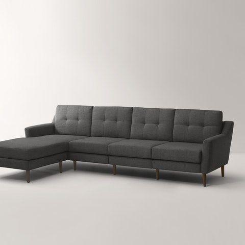 Tremendous The Sofa With Chaise Custom Furniture Havenly In 2019 Inzonedesignstudio Interior Chair Design Inzonedesignstudiocom