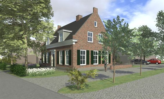 landelijk bouwen google zoeken huis pinterest