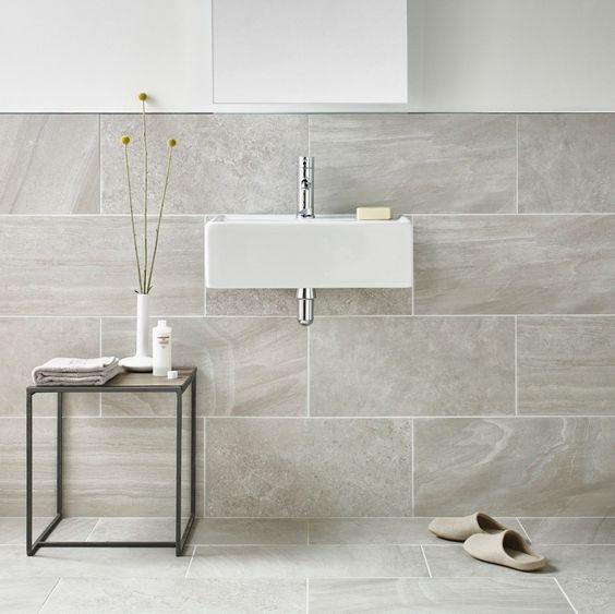 Elegant  Nuvola Grey 600 X 300mm Matt Finish Porcelain Floor Amp Wall Tile  EBay