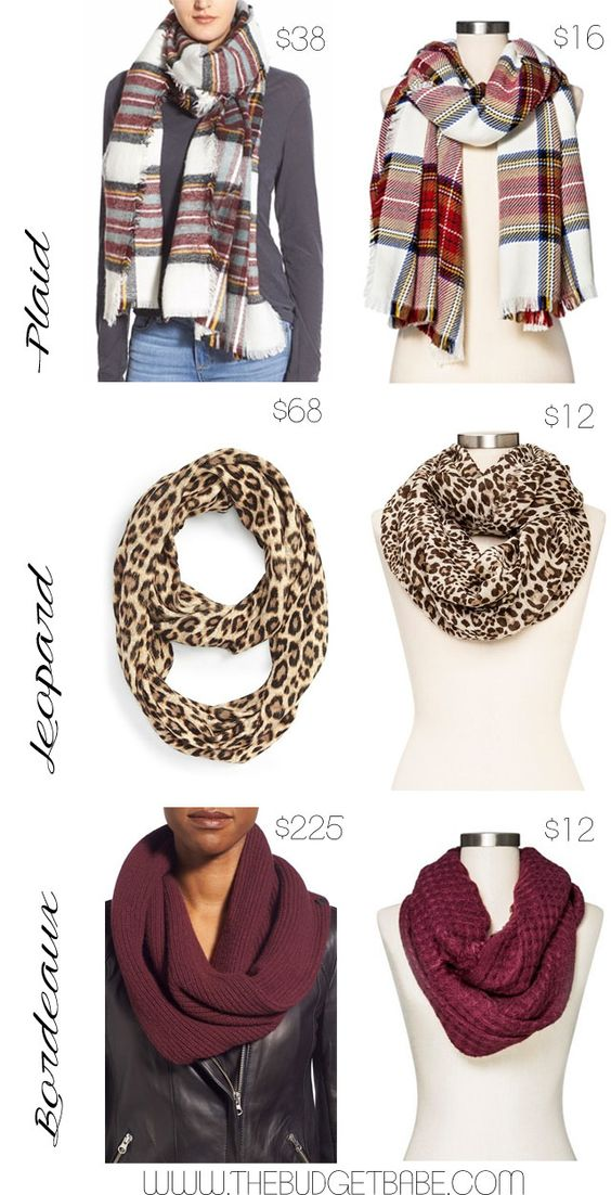 Scarves are an essential part of any fall wardrobe, giving simple looks that added element of style that takes them from boring to beautiful. After pouring over dozens of images on Instagram and PIn...