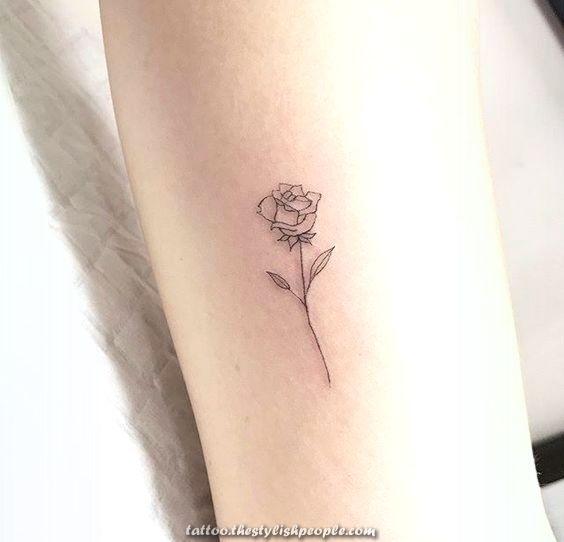 Terrific Ma Supply D Inspiration Pinterest Larevuedekathl Dinspiration Larevuede Small Rose Tattoo Tiny Rose Tattoos Rose Tattoos