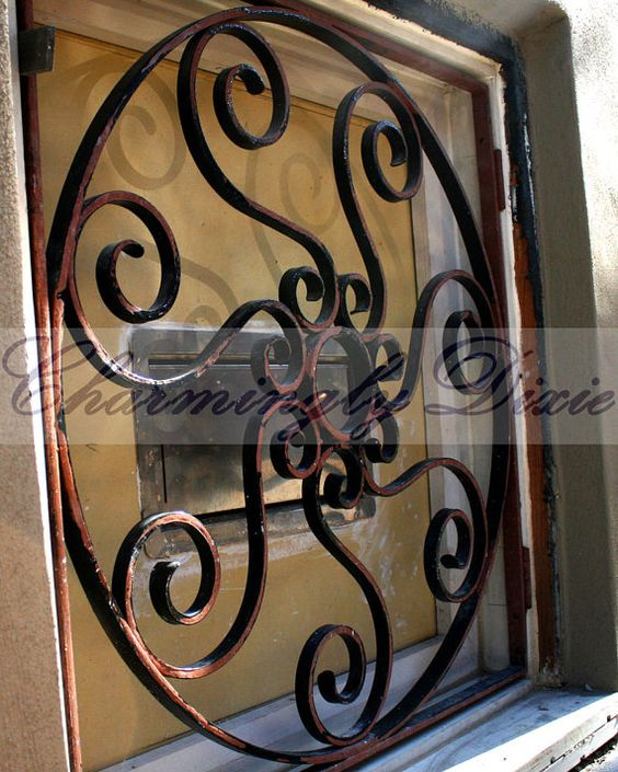 Ironwork Charleston SC   signed matted print by CharminglyDixie, $10.00