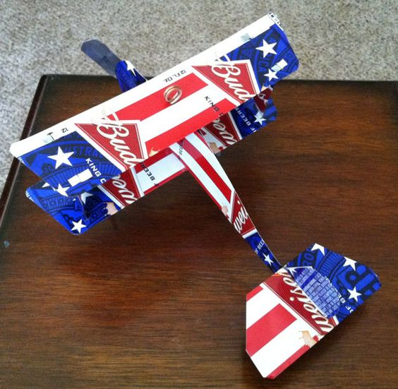 Budweiser Beer Can AirPlane CUSTOM Metal Tin Sign by Popcanshop, $21.00 https://www.youtube.com/watch?v=HMMstNht85c