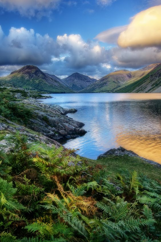 """The Magic of Wasdale"" - Wastwater, Lake District, Cumbria, England by Ian Hex of www.lightsweep.co.uk #Wastwater #LakeDistrict #England"