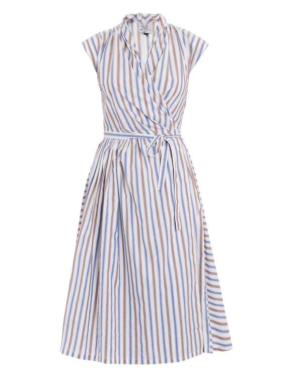 thierry colson striped dress