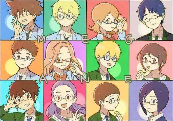 Taichi,Yamato, Sora, Joe, Koushiro, Mimi, Takeru, Hikari, Daisuke, Miyako, Iori, Ken