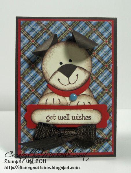 cute puppy card!