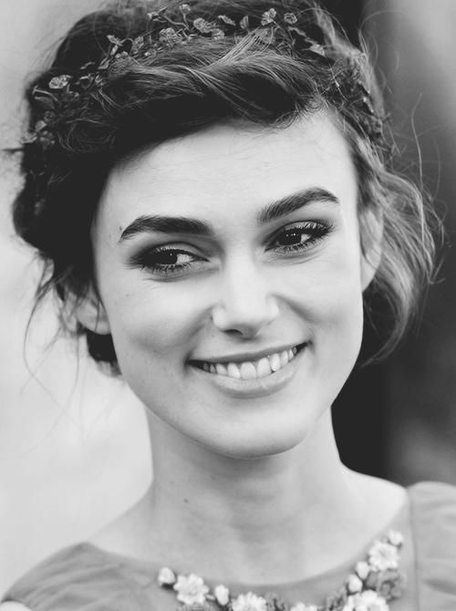 Kiera Knightley wipsy ethereal look - looks amazing on her and is easily replicated                                                                                                                                                                                 More: