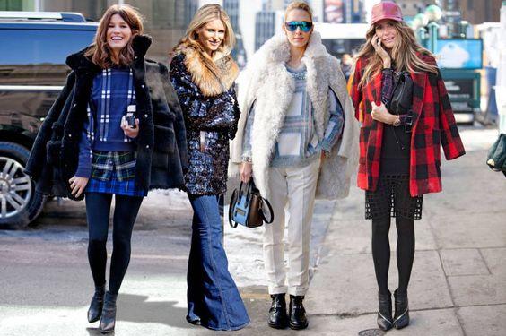 Street Chic: New York Fashion Week - Street Style Photos NYFW Fall 2014 - ELLE