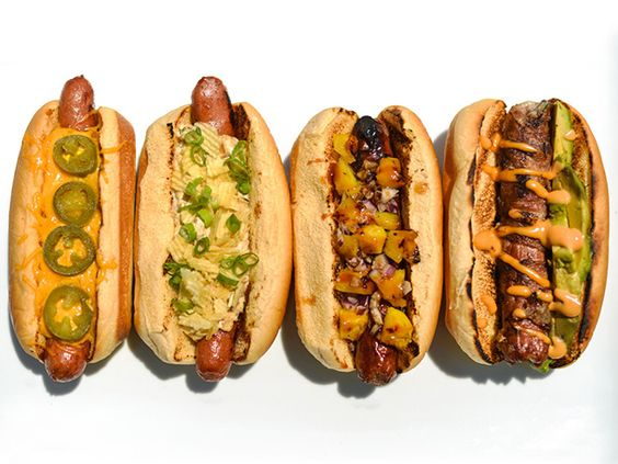 Why is it that the simple hotdog is so appealing all dressed up? 8 Great Hot Dog Toppings