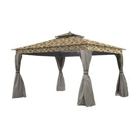 Garden Winds Replacement Canopy Top Cover For Allen Roth Finial Gazebo Standard 350 Camouflage Sand Lcm1158camosan Gazebo Gazebo Replacement Canopy Replacement Canopy