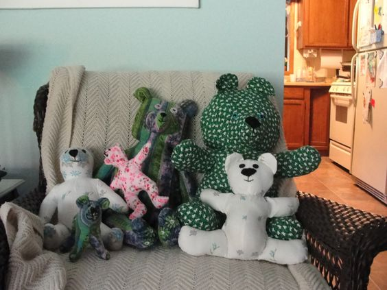 Bears I sewed in May