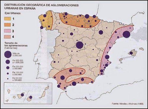 Mapa Tematico De Espana.Como Comentar Un Mapa Tematico Como Hacer El Comentario De Un Mapa Tematico Aula De Historia Mapas Aula De Historia Geografia