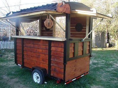 Custom Concession Trailer Mobile Food Cart All Styles Built to Order Sala Thai $13k