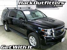 Chevrolet Suburban Thule Rapid Podium BLACK AeroBlade Roof Rack '15-'17*