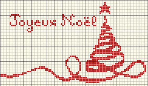 Coucou, Alors que pensez-vous des journées à thème ????? Voici une nouvelle grille de Noel : A tout à l'heure.