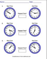 Printables Time Worksheet Generator end time generators and worksheets on pinterest this site has an elapsed worksheet generator customize for interval time