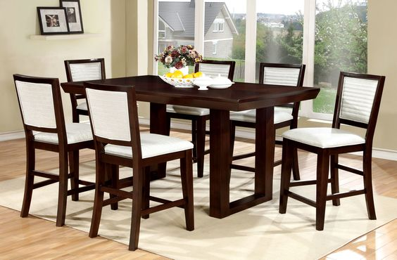 Bisset 7 Piece Counter Height Pub Set