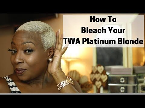 18++ Bleaching natural hair platinum ideas in 2021