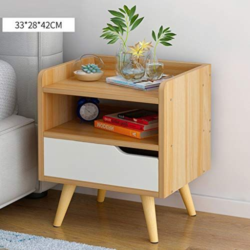 Bjlwtq Nightstands Bedside Cabinet Wood Bedside Table With Drawer