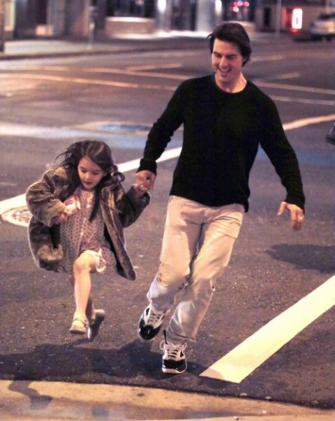 Tom Cruise and Suri: