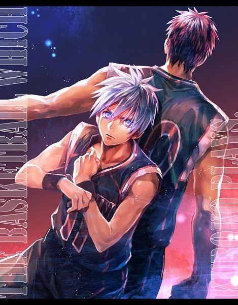 Tags: Anime, Kuroko no Basket, Kuroko Tetsuya, Kagami Taiga, Basketball Uniform, Basketball Uniform (Seirin High), Fj (Pixiv)