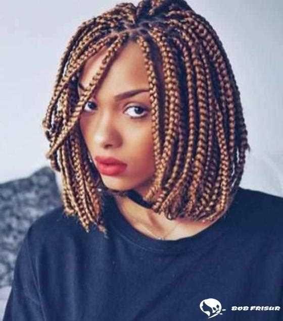 100 Super Afrikanische Zopfe 2019 2020 Hair Coole Bob Bobfrisuren Coolesthairstyleforwomen Undercut H Hair Styles Bob Braids Hairstyles Short Box Braids