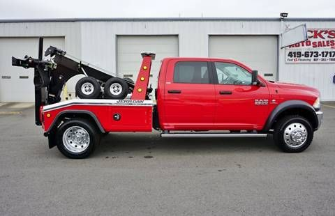 2018 Dodge Ram Pickup 5500 Wrecker Self Loader In Kenton Oh Ricks Auto Sales Inc Flatbed Towing Tow Truck Cars For Sale