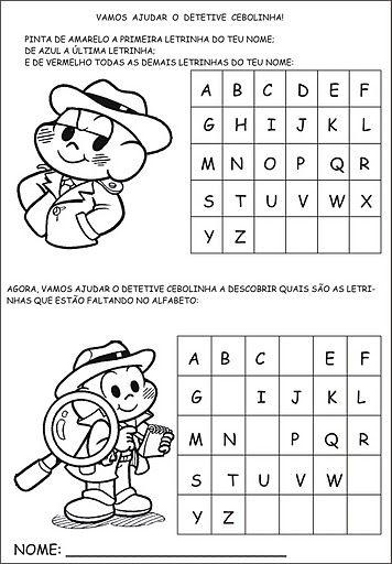 ESPAÇO EDUCAR: Atividades para alfabetização!