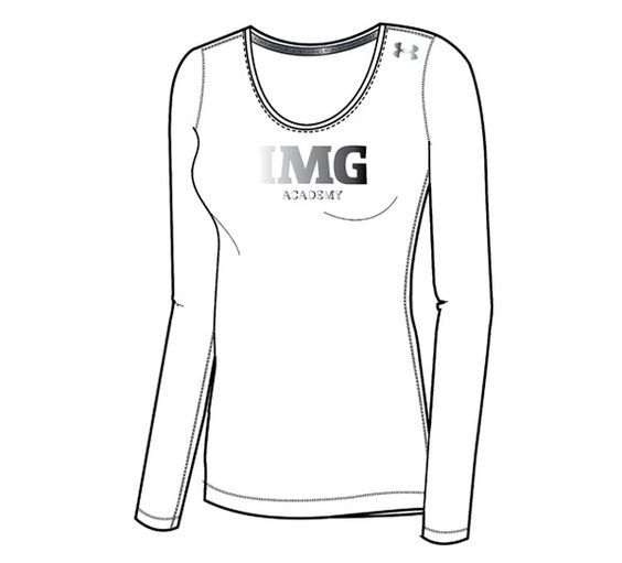 Women's Sonic Fitted Long Sleeve IMG Academy from Official Online Store of IMG Academy