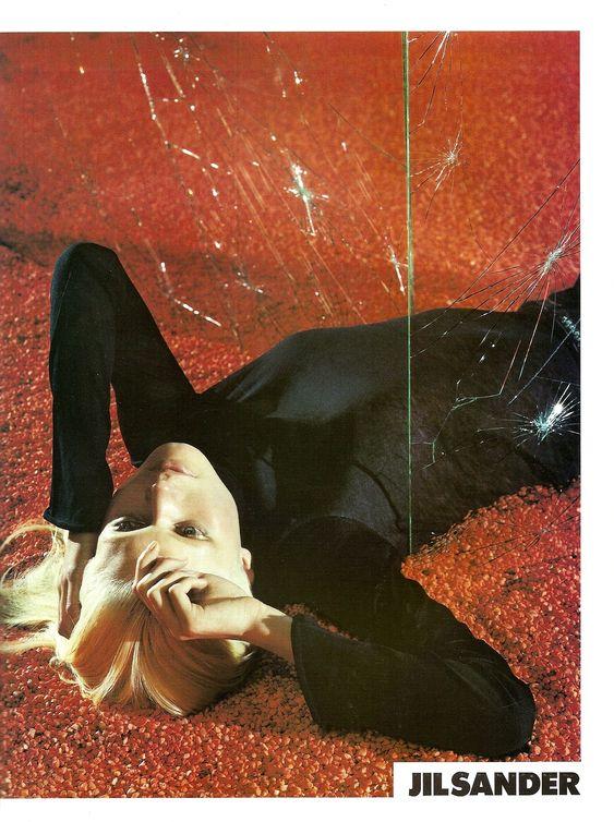 Campaign: Jil Sander  Season: Spring 2000  Photographer: Mario Sorrenti  Model(s): Malgosia Bela: