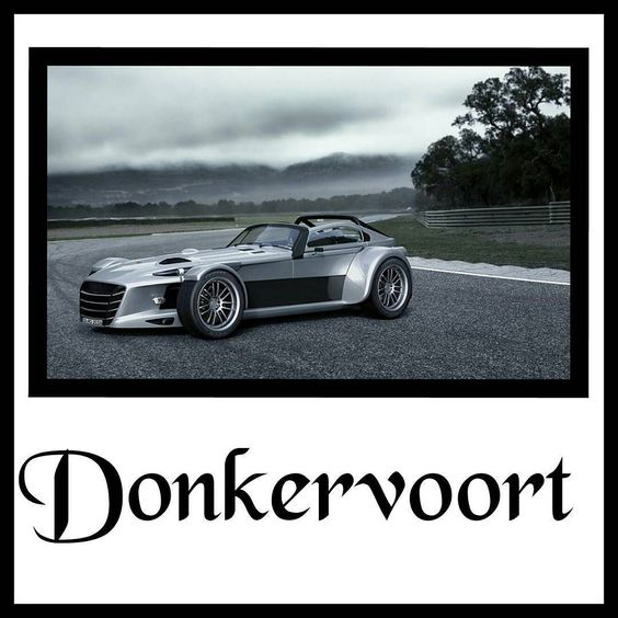 For those of you on a budget as opposed to the $34 million #lykanhypersport I was going to feature #donkervoort The hard-to-pronounce Dutch boutique car manufacturer has been around since 1978 and unlike every other manufacturer in existence pride themselves on building performance cars with no aids of any kind e.g. traction control ABS or power steering. Their cars essentially delivers a purists driving experience that requires Senna-like skill. Their newly announced D8 GTO-RS (approx…