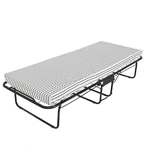 Pastel Bed Guest Cot Camping Folding Portable Travel Mattress Sleeper Outdoor Indoor Folding Beds Bed Frame With Mattress Folding Bed Frame