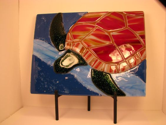 Sea Turtle by Sharonsidlehands on Etsy, $85.00