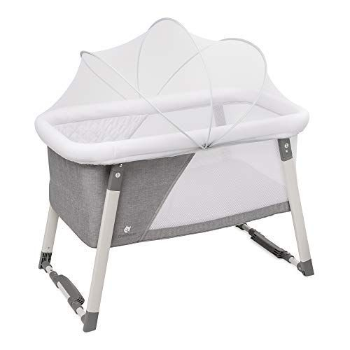 Travel Bassinet For Baby Rocking Sturdy Cradle Includes Carry Case Mosquito Net Mattress Sheets Infant Travel Bassinet Portable Bed Portable Bassinet
