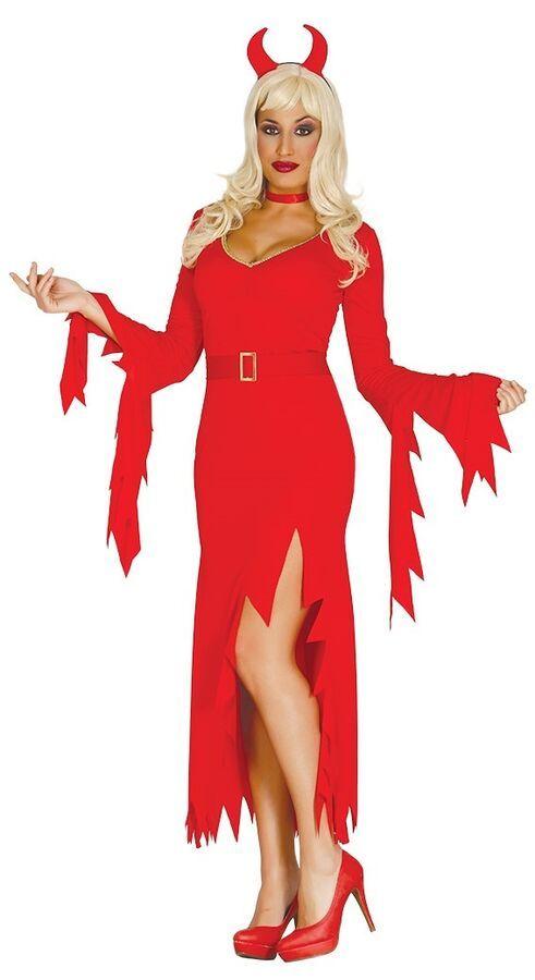 Satan Devil Costume Halloween Fancy Dress