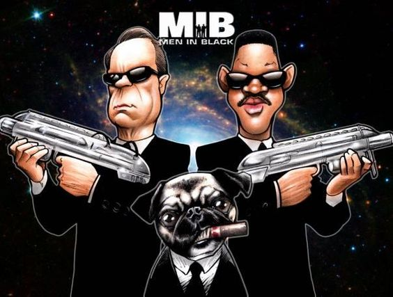 Caricature: MIB by Elninger