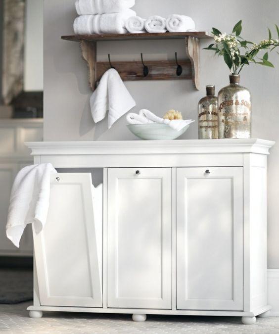 der richtige wäschekorb in der waschküche - clevere