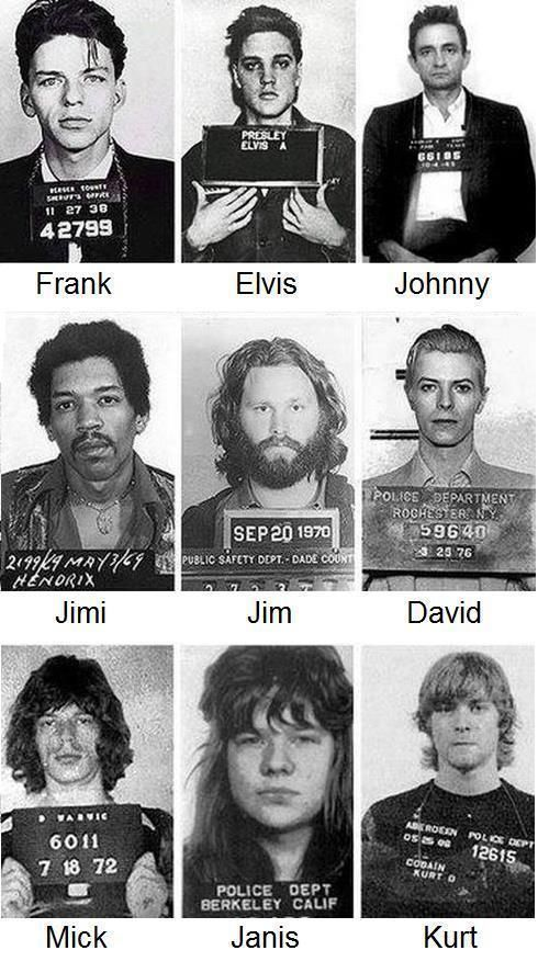 $4.95 - Musical Mugshots 10 - 8 X 10 Tee Shirt Iron On Transfer #ebay #Home & Garden