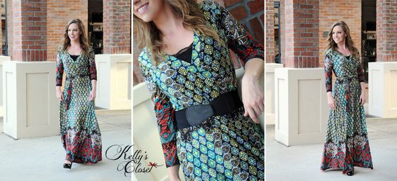 Kelly's Closet Boutique I NICOLE Maxi Dress