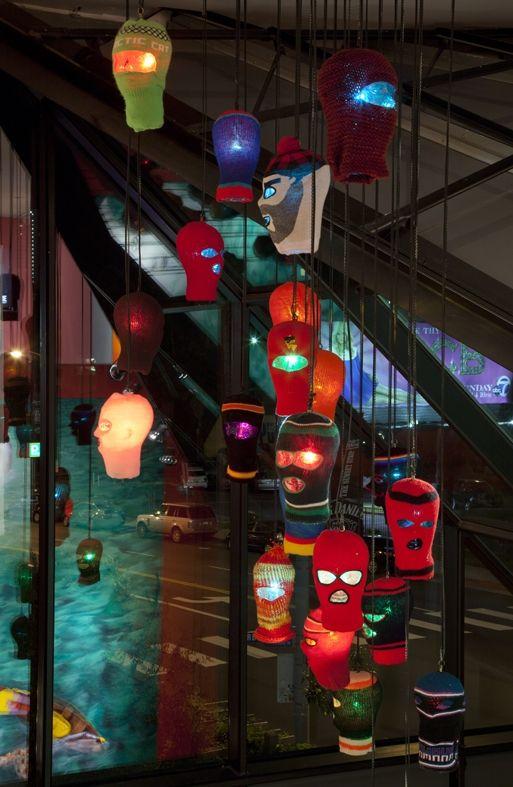 art installation by osgemeos