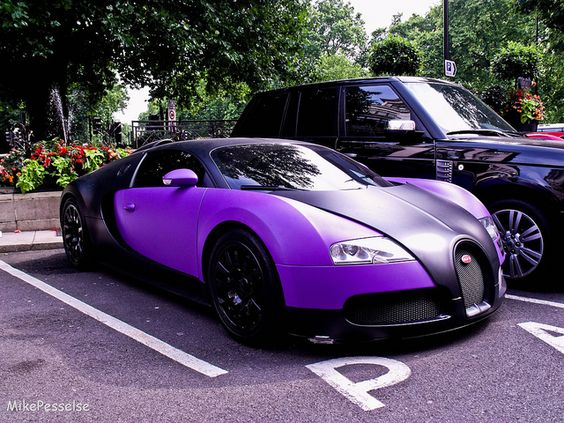 bugatti veyron purple color outdoor goal book. Black Bedroom Furniture Sets. Home Design Ideas