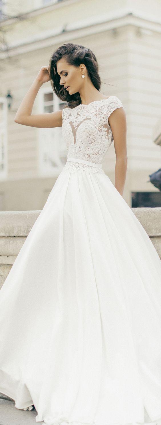 Wedding dress idea; Featured Dress: Milla Nova