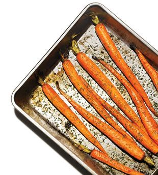 easy roasted carrots