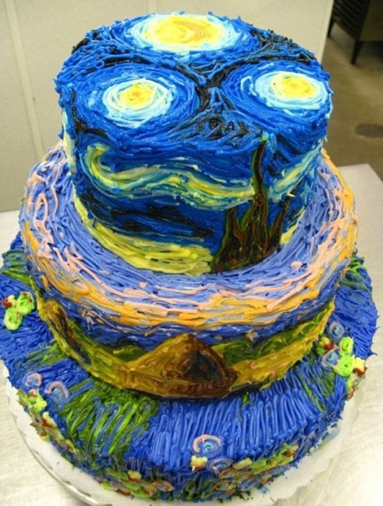 way to neat, famous and it's too pretty to eat.. ♥