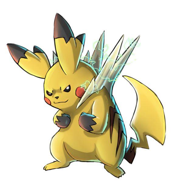 Mega pikachu by abogato.deviantart.com on @deviantART ...
