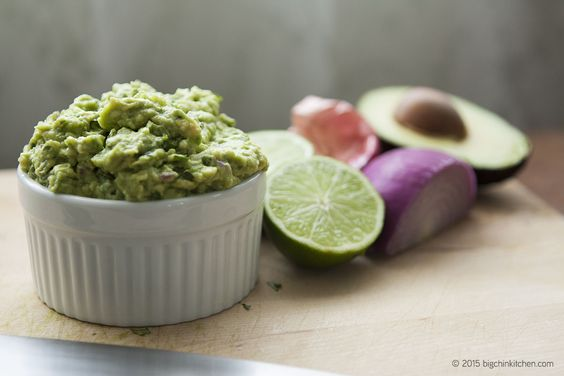 Kay's Awesome Guacamole - Free Paleo Recipes and More. Get the recipe at BigChinKitchen.com