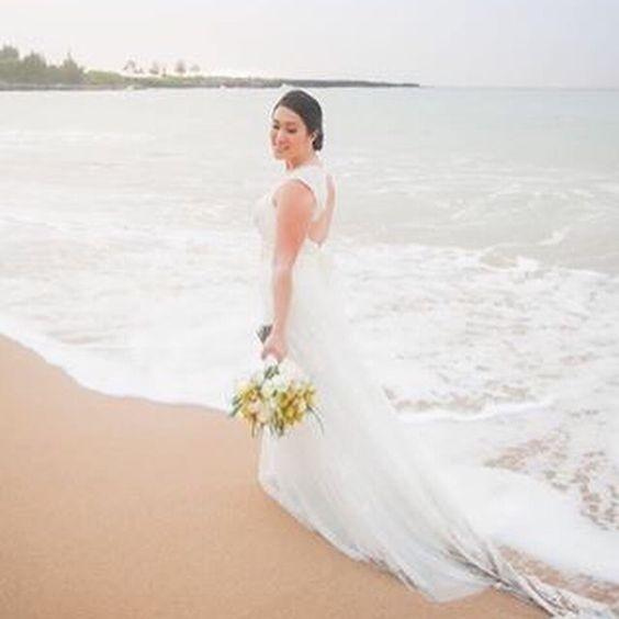 David's Bridal Keyhole Dress