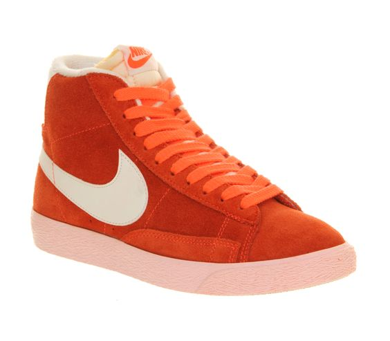 Nike Blazer Hi Suede Total Crimson Storm Pink