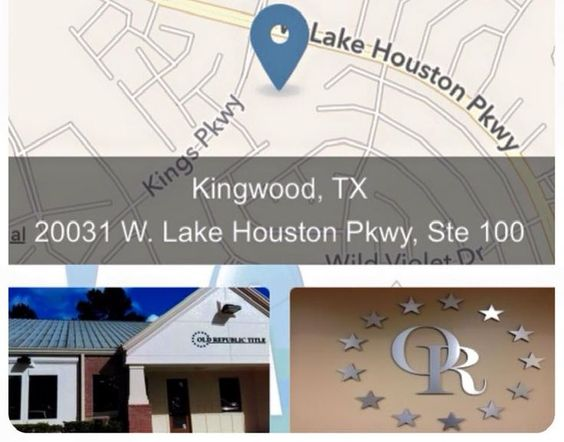 Our Location Please Think Of Old Republic Title Kingwood On Your Next Contract Contact Your Account Executive Amy Craf Republic Kingwood Account Executive